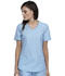 Photograph of Cherokee Form Women V-Neck Top Blue CK840-SUEB