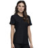 Photograph of Cherokee Form Women Round Neck Top Black CK841-BLK