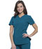 Photograph of Infinity Women V-Neck Top Blue CK865A-CAPS