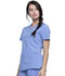 Photograph of Infinity Women's V-Neck Top Blue CK865A-CIPS