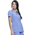 Photograph of Infinity Women V-Neck Top Blue CK865A-CIPS