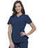 Photograph of Infinity Women V-Neck Top Blue CK865A-NYPS