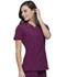 Photograph of Infinity Women V-Neck Top Red CK865A-WNPS