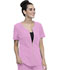 Photograph of Statement Women Zip Front Top Pink CK875-RBSM