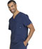 Photograph of Infinity Men Men's V-Neck Top Blue CK900A-NYPS