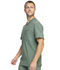 Photograph of Infinity Men Men's V-Neck Top Green CK910A-OLPS