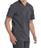 Photograph of Infinity Men Men's Tuckable V-Neck Top Gray CK910A-PWPS