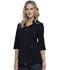Photograph of Infinity Women Zip Front Tunic Black CK952A-BAPS