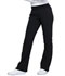 Photograph of Katie Duke iFlex Women Mid Rise Moderate Flare Leg Pull-on Pant Black CKK075-BLK
