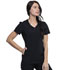 Photograph of Katie Duke iFlex Women's V-Neck Top Black CKK815-BLK