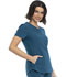 Photograph of Katie Duke iFlex Women V-Neck Top Blue CKK815-CAR