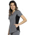 Photograph of Katie Duke iFlex Women's V-Neck Top Black CKK815-HTGR