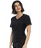 Photograph of Katie Duke iFlex Women V-Neck Top Black CKK817-BLK