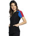 Photograph of Katie Duke iFlex Women's Zip Neck Top Black CKK821-BLK