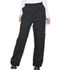Photograph of Dickies Chef Unisex Double Knee Baggy Elastic Pant in Black