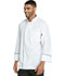Photograph of Dickies Chef Unisex Unisex Cool Breeze Chef Coat with Piping White DC411-WTBK