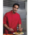 Photograph of Dickies Chef Unisex Cool Breeze Chef Coat in Red