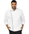 Photograph of Dickies Chef Unisex Executive Chef Coat with Piping in White with Black Trim