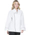 Photograph of Dickies Chef Unisex Unisex Executive Chef Coat with Piping White DC42B-WTBK