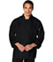 Photograph of Dickies Chef Unisex Classic Knot Button Chef Coat in Black