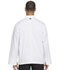 Photograph of Dickies Chef Unisex Classic Knot Button Chef Coat in White