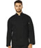 Photograph of Dickies Chef Unisex Classic Cloth Covered Button Coat in Black