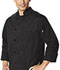 Photograph of Dickies Chef Unisex Classic 10 Button Chef Coat in Black