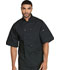 Photograph of Dickies Chef Unisex Classic 10 Button Chef Coat S/S in Black
