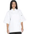 Photograph of Dickies Chef Unisex Classic 10 Button Chef Coat S/S in White