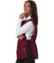 Photograph of Dickies Chef Cobble Bib Apron with Tie Sides in Burgundy
