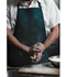 Photograph of Dickies Chef Unisex 3 Pocket Bib Apron with Adjustable Neck Green DC51-HUNT