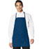 Photograph of Dickies Chef 3 Pocket Bib Apron with Adjustable Neck in Royal