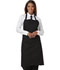 Photograph of Dickies Chef Set Strap, No Pocket Bib Apron in Black