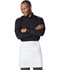 Photograph of Dickies Chef Half Bistro Waist Apron 6 piece pack in White