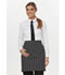 Photograph of Dickies Chef Half Bistro Waist Apron with 2 Pockets in Black/White Stripe