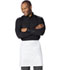 Photograph of Dickies Chef Unisex Half Bistro Waist Apron with 2 Pockets White DC57-WHT