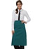 Photograph of Dickies Chef Full Bistro Waist Apron with 2 Pockets in Hunter Green