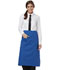 Photograph of Dickies Chef Full Bistro Waist Apron with 2 Pockets in Royal