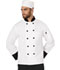 Photograph of Dickies Chef Elastic Chef Beanie in White