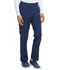 Photograph of EDS Essentials Women's Natural Rise Tapered Leg Pull-On Pant Blue DK005-NYPS