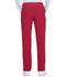 Photograph of Every Day EDS Essentials Women Natural Rise Tapered Leg Pull-On Pant Red DK005-RED