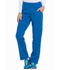 Photograph of EDS Essentials Women's Natural Rise Tapered Leg Pull-On Pant Blue DK005-RYPS