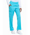 Photograph of Every Day EDS Essentials Women's Natural Rise Tapered Leg Pull-On Pant Blue DK005-TRQ