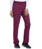 Photograph of Every Day EDS Essentials Women Natural Rise Tapered Leg Pull-On Pant Red DK005-WNPS