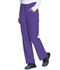 Photograph of Every Day EDS Essentials Women Mid Rise Straight Leg Drawstring Pant Purple DK010-GRP