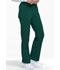 Photograph of EDS Essentials Women's Mid Rise Straight Leg Drawstring Pant Green DK010-HNPS