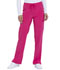 Photograph of Dickies Every Day EDS Essentials Mid Rise Straight Leg Drawstring Pant in Hot Pink
