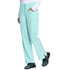 Photograph of EDS Essentials Women's Mid Rise Straight Leg Drawstring Pant Green DK010-MTCH