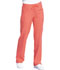 Photograph of Dickies Every Day EDS Essentials Mid Rise Straight Leg Drawstring Pant in Papaya Punch