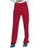 Photograph of Dickies Every Day EDS Essentials Mid Rise Straight Leg Drawstring Pant in Red